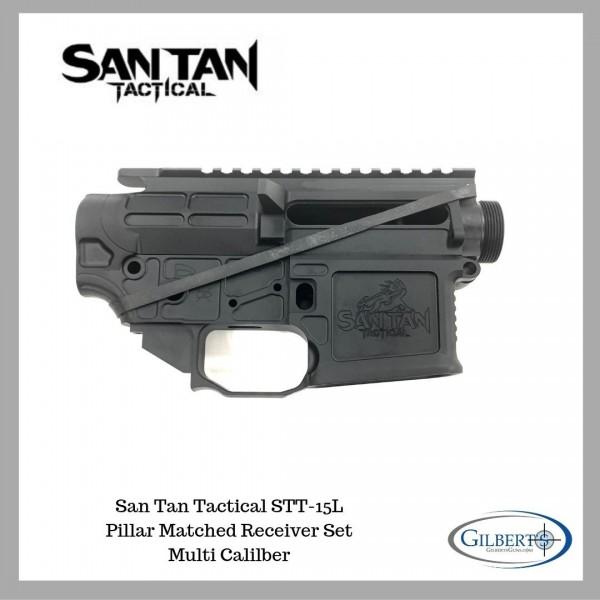San Tan Tactical STT-15L Lite Pillar Matched Multi Caliber Receiver Set.