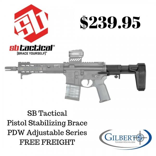 SB Tactical AR15 SBPDW Pistol Stabilizing Brace PDW-01-SB