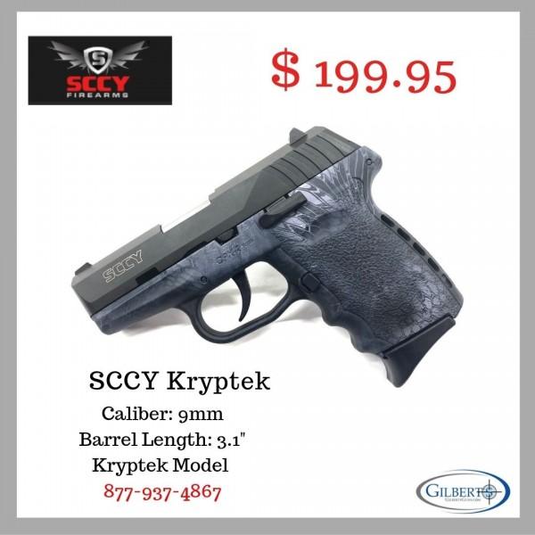 SCCY CPX-2 9mm Kryptek Pistol With 2-10 Round Magazines
