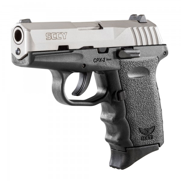 SCCY CPX-2 9mm Stainless Steel Pistol