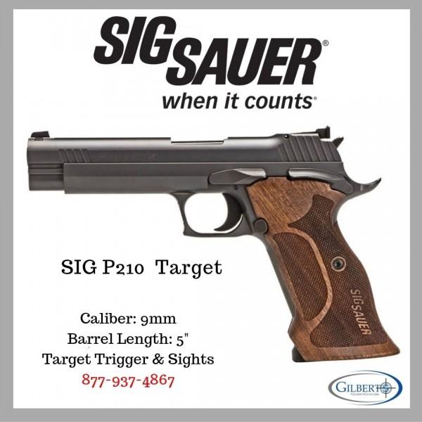 Sig 210 Target Pistol