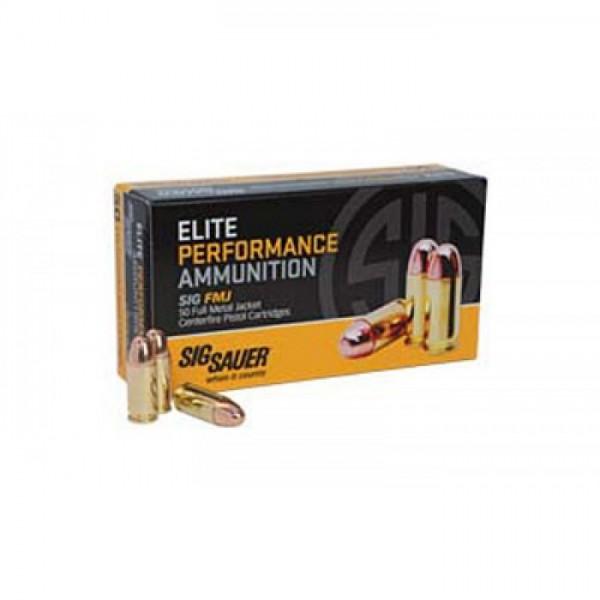 Sig Sauer E10MB1 Elite Performance 10mm 180 Grain FMJ Ammunition