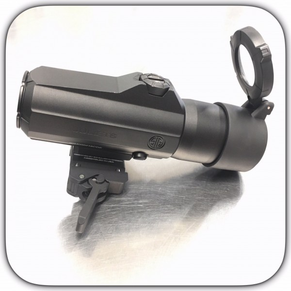 Sig Sauer Juliet 6 6x24 Magnifier PowerCam QR Mount W/ Spacers SOJ61001