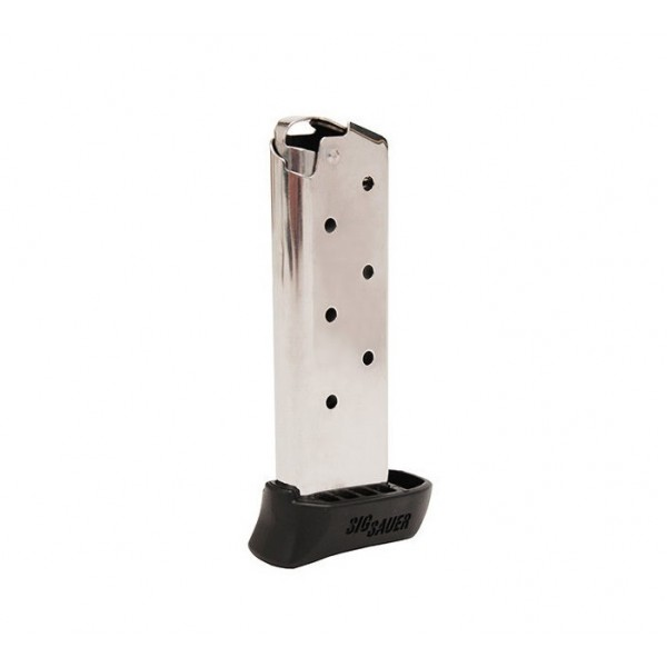 Sig 238 380 7 Round Factory Magazine With Finger Extension  MAG-238-380-7-X