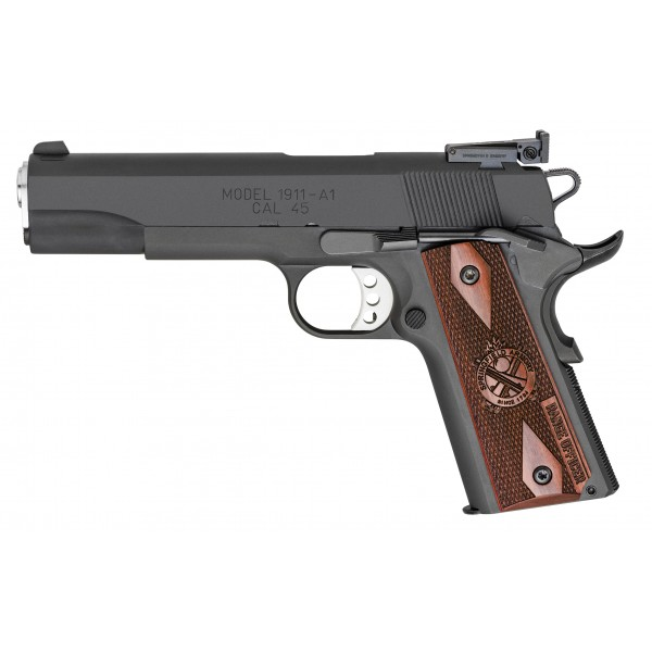 "Springfield Range Officer 45ACP Pistol With 5"" Barrel & Adjustable Sights PI9128L"