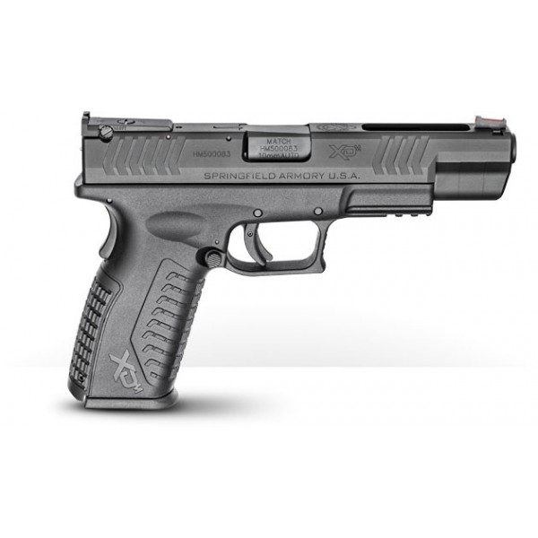 "Springfield XDM 10mm Pistol With 5.25"" Barrel & Adjustable Sights XDM952510BHCE"