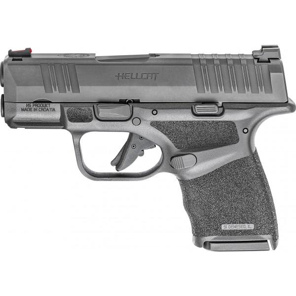 Springfield Hellcat 9mm Pistol With Fiber Optic Sights HC9319BFO