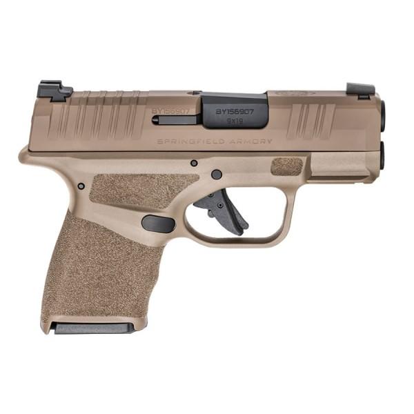 Springfield Hellcat 9mm Flat Dark Earth Pistol HC9319F