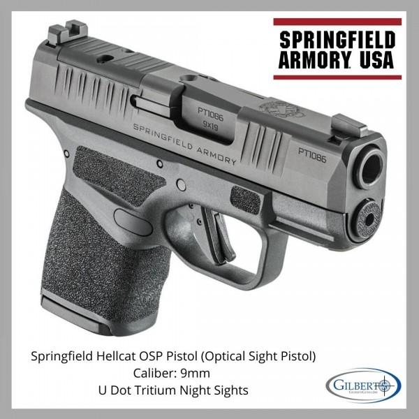 Springfield Hellcat OSP 9mm Pistol HC9319BOSP