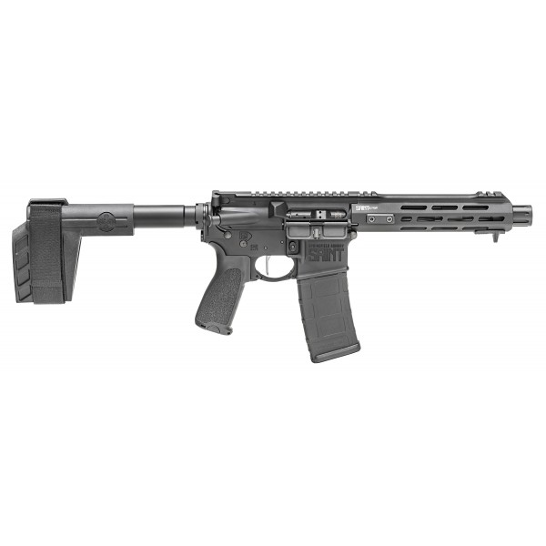 "Springfield Saint Victor 5.56 AR Pistol With 7.5"" Barrel, Flat Trigger & SBT Tactical Brace STV975556B"