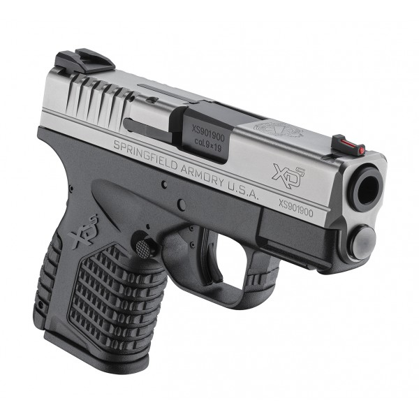 "Springfield XDS9339SE XD-S 9mm Bitone Pistol With 3.3"" Barrel"