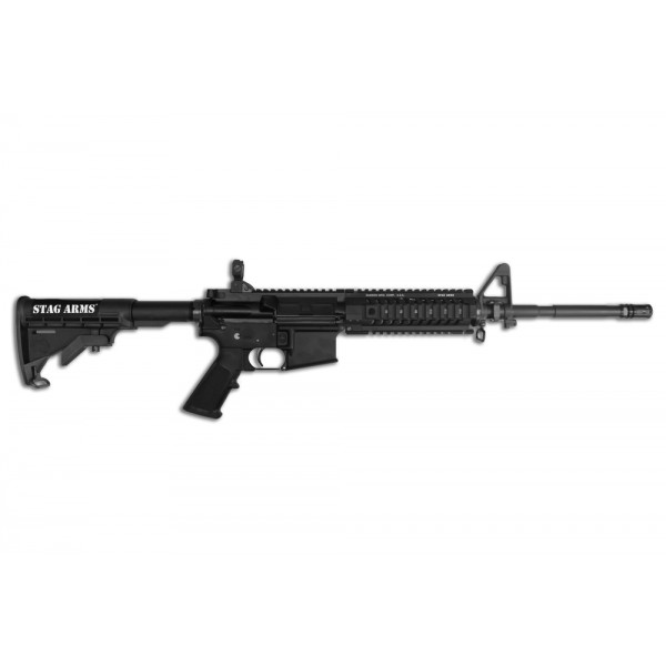 "Stag Arms 2T 5.56 Carbine With 16"" Barrel & Samson Quad Rail"