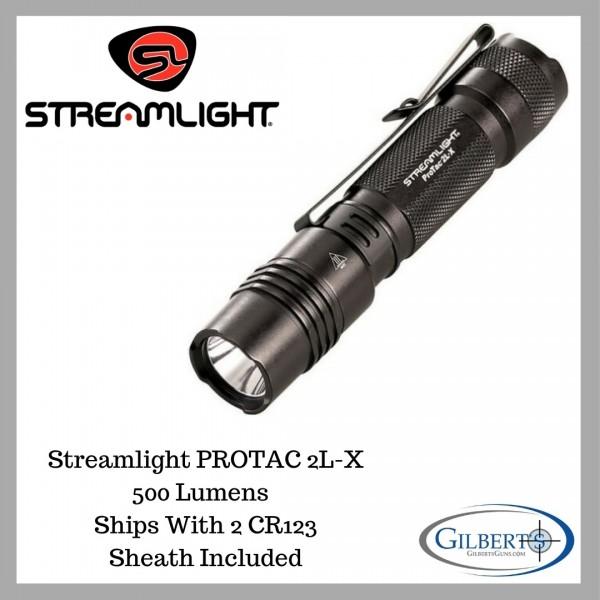 Streamlight PROTAC 2L-X 500 Lumen Flashlight 88063