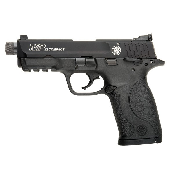Smith and Wesson 10199 M&P22 Compact Suppressor Ready 22LR Pistol