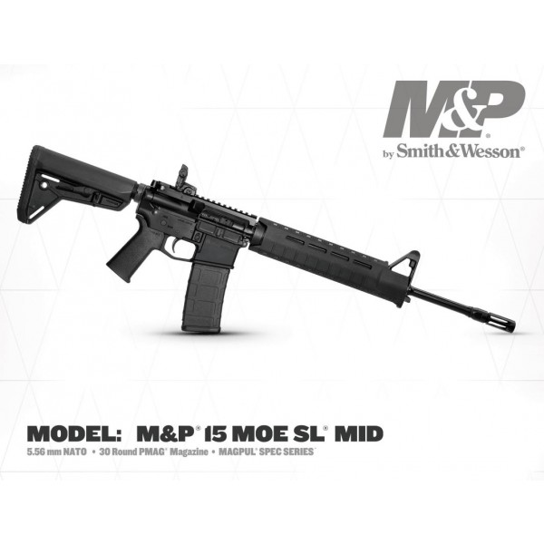 Smith & Wesson M&P15 Magpul Spec Series 5.56 Rifle 11512