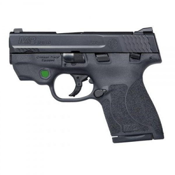 Smith & Wesson M&P Shield 2.0 9mm Pistol With Integrated Crimson Trace Green  Laser 11901