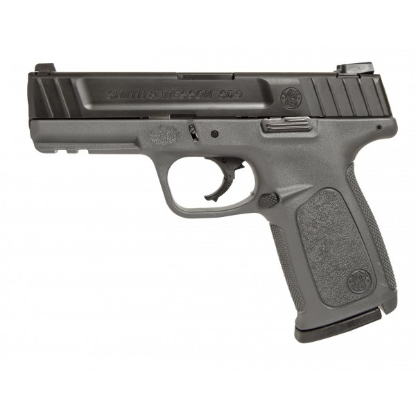 Smith & Wesson SD9 9mm Pistol With Gray Frame & 2-16 Mags 11995