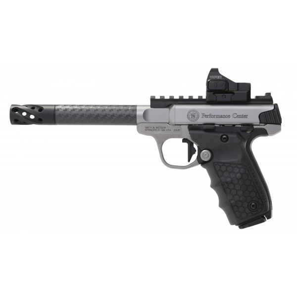 Smith & Wesson Performance Center SW22 Victory Target Carbon 22LR Pistol With Vortex Viper Red Dot Optic 12081