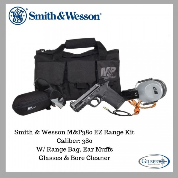 Smith & Wesson M&P380 Shield EZ Range Ready Kit 13114