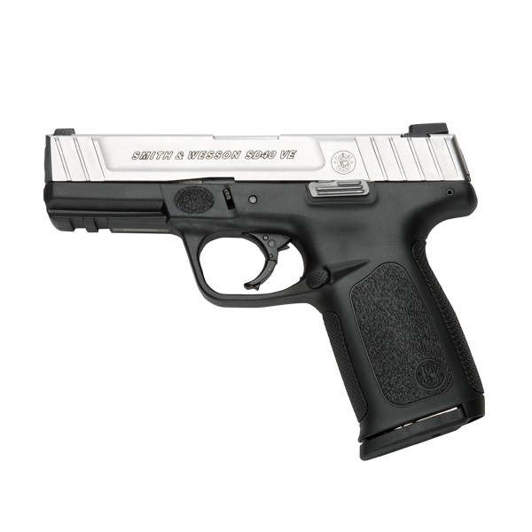 Smith & Wesson 223400 SD40 VE Stainless Steel 40 Caliber Pistol