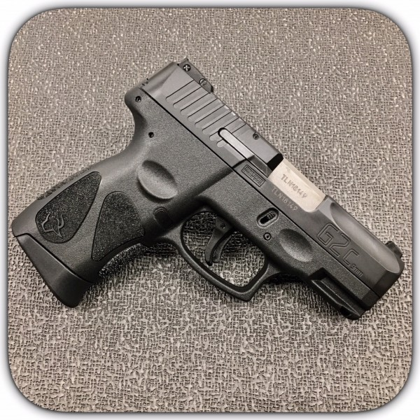 "Taurus G2C 9mm Black Pistol With 3.26"" Barrel 1-G2C931-12"