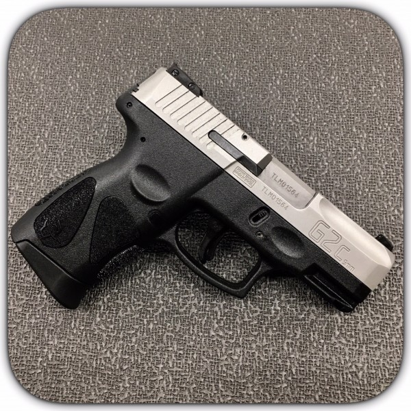 "Taurus G2C 9mm Stainless Pistol With 3.26"" Barrel 1-G2C939-12"