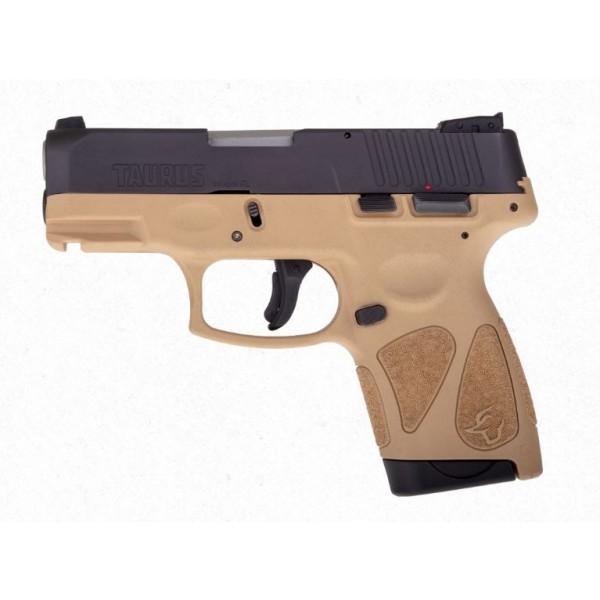 Taurus G2S 9mm Tan Pistol 1-G2S931T