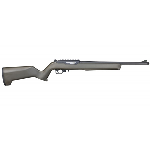"Thompson Center T/CR 22 Semi Automatic Rifle With Green Composite Stock & 17"" Threaded Barrel 12299"