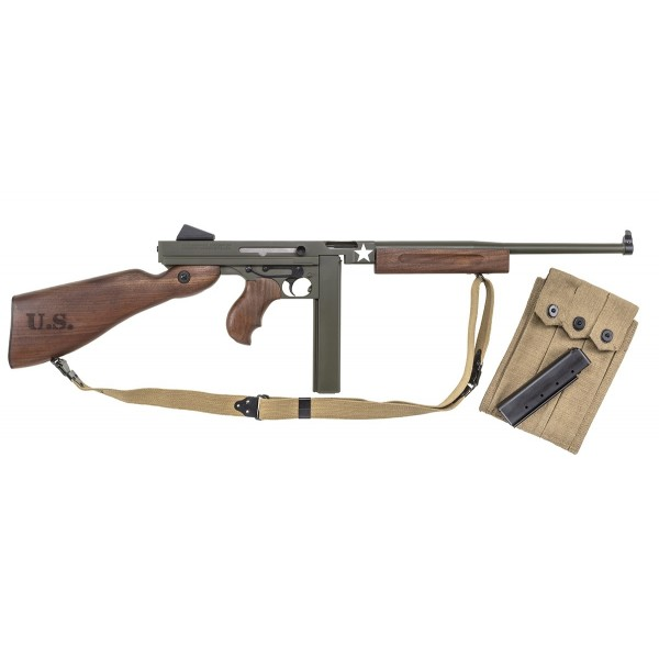 Thompson M1 Tanker WWII 45 ACP Rifle With 1-30 & 1-20 Round Magazine TM1C1