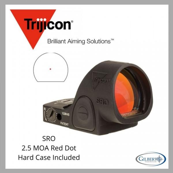 Trijicon SRO 2.5 MOA Red Dot Optic SR02-C-2500002