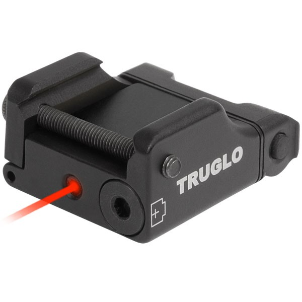 Truglo TG7630R Micro Tac Tactical Red Laser For Weaver Rail Systems