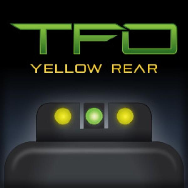 Truglo TFO Tritium Fiber Optic Night Sights for GLOCK 17 19 22 23 26 27 34 35 Pistols TG131GT1Y
