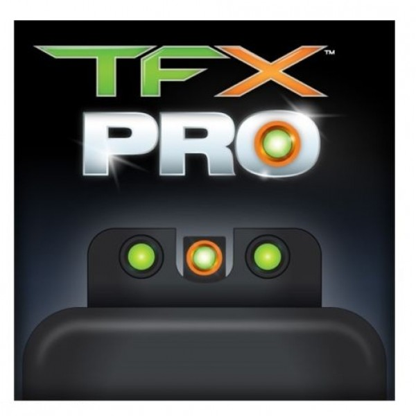 Truglo TG13GL3PC TFX Pro GLOCK 43 & 42 Tritium Fiber Optic Handgun Sights