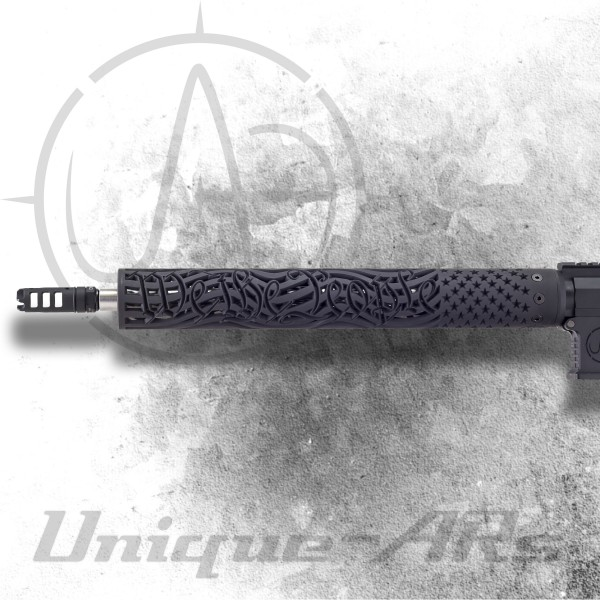 """Unique AR's """"We The People"""" 15"""" Free Float Forend"""