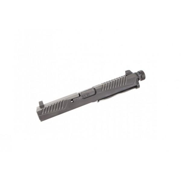 VDI Brawler Slide Assembly & Threaded Barrel For GLOCK 17 Pistol FGAV-41004