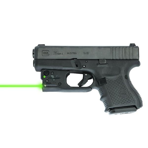 Viridian Reactor 5 Green Laser For GLOCK 26/27 Gen 3 & Gen 4 Pistols