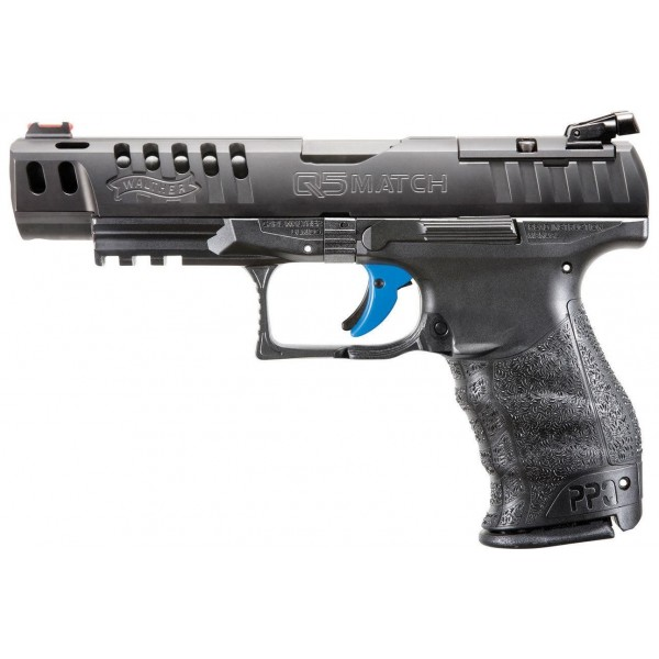 Walther Q5 Match M1 Classic 9mm Pistol With 3-15 Mags 2837218