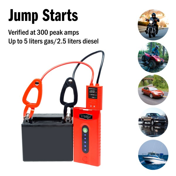 Weego Jump Starter 22 Portable Power Unit N22