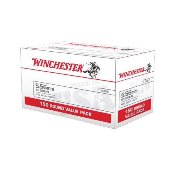 Winchester White Box Target 5.56 Ammunition
