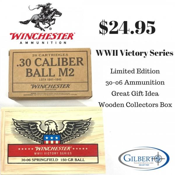 Winchester WWII Victory Series 30-06 150 Grain Ball Ammunition X3006WW2