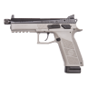 CZ P-09 Urban Grey Suppressor Ready 9mm Pistol With 21 Round Magazine 91269