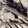Tactical Solutions X-Ring 22LR Rifle With Vortex Scope & Hogue Ghillie Green Stock