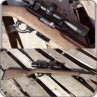Tactical Solutions X-Ring 22LR Rifle With Vortex Scope & Hogue Ghillie Tan Stock
