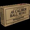 Winchester WWII Victory Series 45 ACP 230 Grain Ammunition X45WW2
