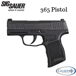 SIG P365 9MM Concealed Carry Pistol