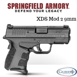 Springfield Armory XDS Mod 2 9mm Concealed Carry Pistol