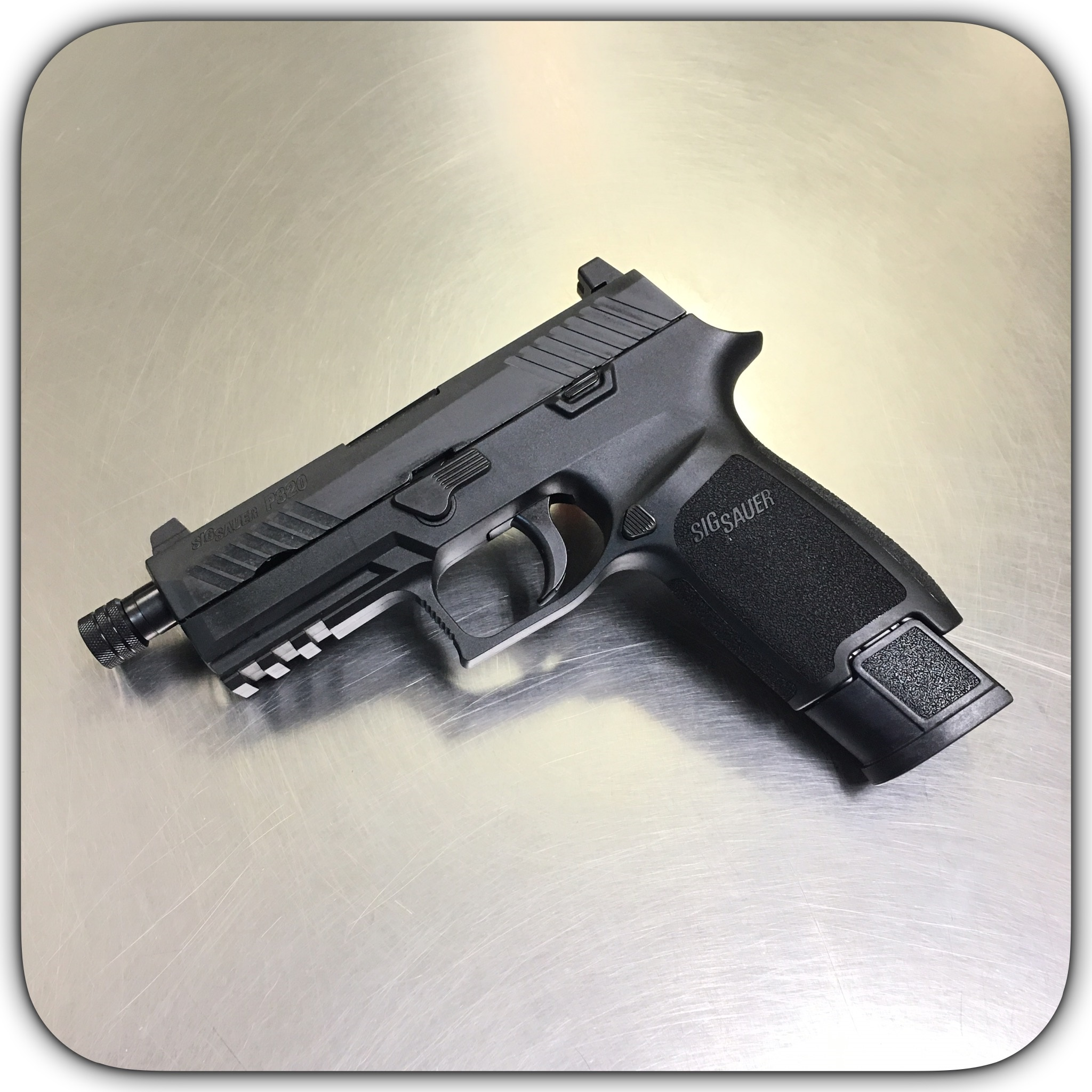 Sig 320 TACOPS Carry 9MM Threaded Barrel Pistol