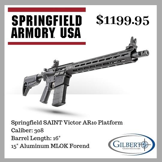 Springfield Armory SAINT Victor 308 Rifle